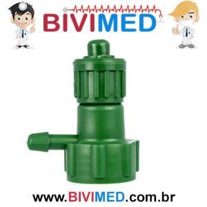 umidificador com frasco 250 ml oxigenio-tampa-min