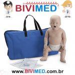Manequim Bebê – com Monitor RCP (pele média)-min